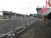 Police Barrier as Barricade for Sport Events,  Festivals